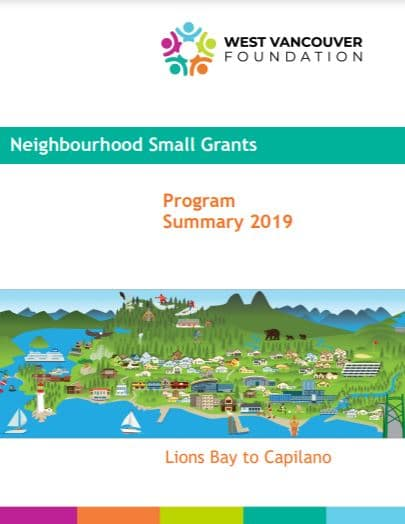 2019 Neighbourhood Small Grant Annual Report