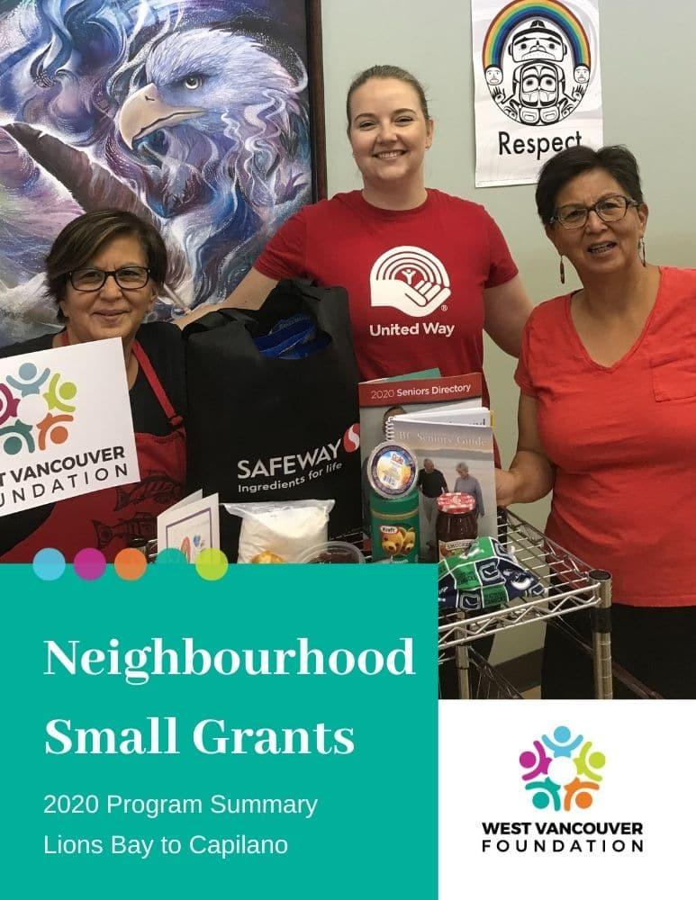 2020 Neighbourhood Small Grant Sunmary