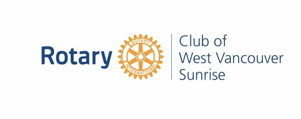 Rotary Club of West Vancouver Sunrise logo